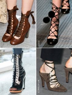 Fall Trend Report: Laced Up
