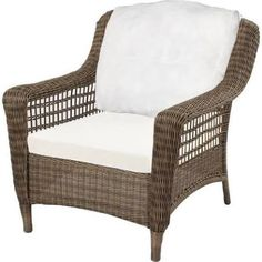 Us Leisure Cappuccino Resin Wicker Lounger 189976
