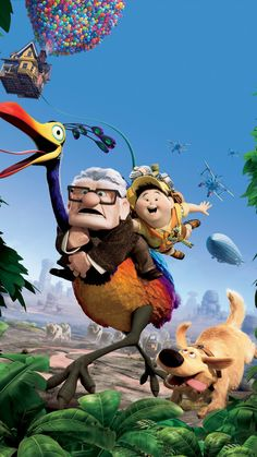 Old man and young boy. Disney Pixar Up, Arte Disney, Disney Animation, Disney And Dreamworks, Disney Cartoons, Disney Phone Wallpaper, Cartoon Wallpaper Iphone, Movie Wallpapers, Cute Cartoon Wallpapers