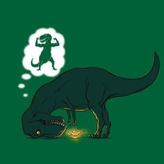 Arms... too... short... #trex