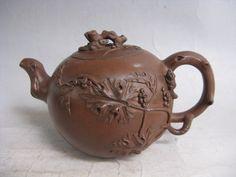 Chinese Super YiXing ZiSha Pottery Wintersweet Teapot Free Shipping  G747 picclick.com