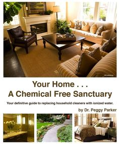 Enagic Water Ionizer can help you eliminate all these toxic chemicals from your home.