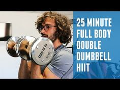 BeFiT Intensity: HIIT with Weights Workout- Scott Herman - YouTube Dumbbell Workout At Home, Full Body Bodyweight Workout, Weight Training Workouts, Hiit Workouts Fat Burning, Cardio Hiit, Dumbbell Exercises, Core Workouts, Strength Workout, Workout Tips