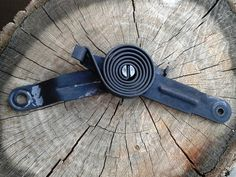 Vintage Auto Window Pulley w/ Spring by JUNQFUSION on Etsy, $16.00