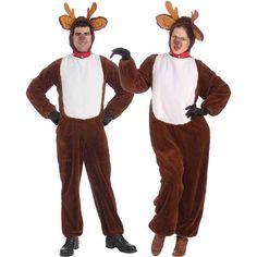 Forum Novelties Brown Plush Reindeer Dress-Up Set - Adult Adult Disney Costumes, Buy Costumes, Couple Halloween Costumes For Adults, Costume Shop, Christmas Costumes, Costumes For Women, Adult Halloween, Couple Costumes, Woman Costumes