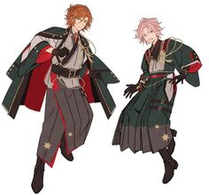 ᴛᴇᴍɪ | بڑی غلطیさん (@hanyanene) / Twitter Anime Outfits, Cool Outfits, Character And Setting, Kohaku, Identity Art, Ensemble Stars, Poses, Character Design References, Character Outfits