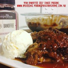 Banoffee Self Sauce Pudding Who loves Banana, and Chocolate ? Home Recipes, Gourmet Recipes, Easy Recipes, Easy Meals, Pudding Desserts, Pudding Cake, Dessert Recipes, British Pudding, Self Saucing Pudding