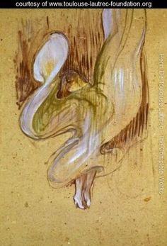 Loie Fuller in the Dance of the Veils - Henri De Toulouse-Lautrec - www.toulouse-lautrec-foundation.org