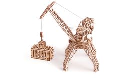 Wood Trick Tower Crane Mechanical Wooden Puzzle Model Self Assembly DIY Kit 3d Puzzles, Wooden Puzzles, Perfect Gift For Him, Gifts For Him, Wooden Model Kits, Creative Thinking Skills, Making Wooden Toys, Laser Cut Wood, Diy Kits
