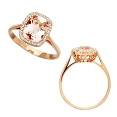 An Astley Clarke Wishlist favourite, and it isn't difficult to see why. New to Astley Clarke Tearoom, this Morganite Ring