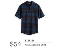 Stitch Fix Men style jacquard shirt. Stitch Fix Personal Stylist subscription box for men and women. Click to sign up or pin for later!
