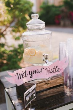 Wet your whistle! http://www.stylemepretty.com/rhode-island-weddings/bristol/2016/01/25/colorful-elegant-linden-place-wedding/ | Photography: Emily Delamater - http://emilydelamater.com/