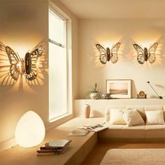 Butterfly Wall Sconce - Beautifulhalo.com