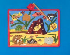 Handgefertigtes Spielzeug mit wunderschönem Motiv für Kinder Peanuts Comics, Art, Pirate Treasure, Clearance Toys, Gifts, Kids, Art Background, Kunst, Performing Arts