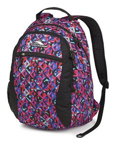 High Sierra Curve Backpack, Kaleidoscope/Black *** Check out the image by visiting the link. (This is an affiliate link) #Bagpacks