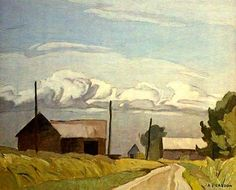 Pinery Road - Alfred Joseph Casson. Canadian (1898 - 1992) - The Group of Seven.