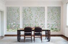 Affordable Temporary Chinoiserie Wallpaper - Vogue