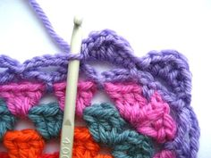 Crochet - Granny Blanket Edging