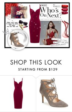 """Steal their eyes!"" by madhu-147 ❤ liked on Polyvore featuring Vince Camuto and Swarovski"