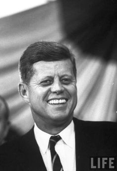 """John Fitzgerald """"Jack"""" Kennedy (May 29, 1917 – November 22, 1963), often referred to by his initials JFK, was the 35th President of the United States, serving from 1961 until his death in 1963. http://en.wikipedia.org/wiki/John_F._Kennedy ❤ ❤"""