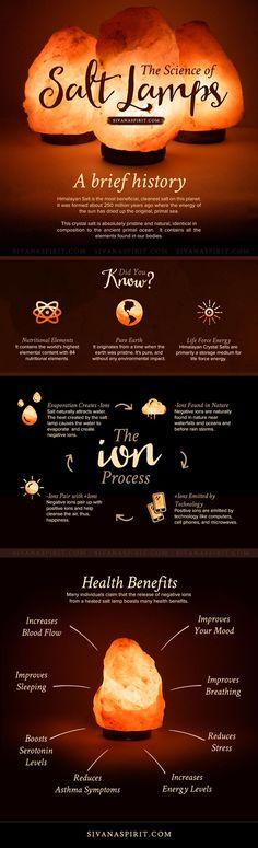 The Science of Himalayan Salt Lamps   http://SivanaSpirit.com
