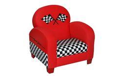 Newco Kids Racing Car Chair, Red