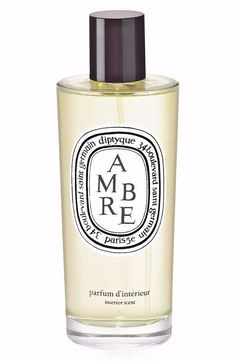Diptyque Ambre Interior Scent Room Fragrance Spices Woods Leather 150mL NIB Seal #diptyque