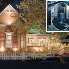 Catfish Plantation; Waxahachie, TX- Supposed to be the most haunted restaraunt in TX. We'll have to go!!!