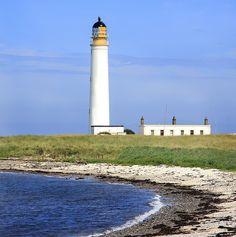 Standing proud ~ Dunbar Lighthouse, Scottish east coast.