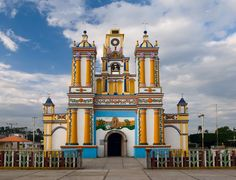 Mexico >> Culture, Crafts & Traditions >> Churches > Cupilco Church #2