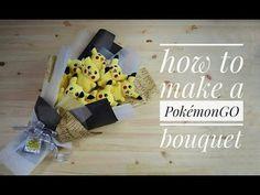 How to make a PokemonGO bouquet - YouTube
