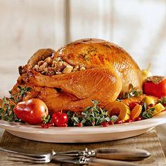 Thanksgiving dinner is surprisingly simple to make. Most of the feast can be done ahead -- you can relax and enjoy the feast, too.