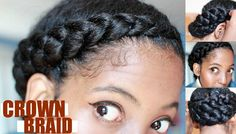 Crown braids serve as a protective style that can be done in no time and can be achieved on a wide range of hair lengths. See how they are done here!