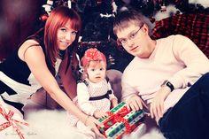 Семейная новогодняя фотосессия: интересные идеи и примеры