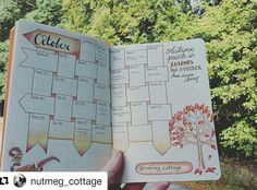 The Traveling Bullet Journal has arrived with Jacqui, @Nutmeg_cottage