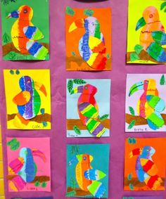 20 of the Best Grade Art Projects for Your Classroom 20 of the Best Grade Art Projects for Your Classroom - WeAreTeachers<br> From lizards and birds to hot air balloons and houses. Class Art Projects, Kindergarten Art Projects, Animal Art Projects, Art Projects For Kindergarteners, Clay Projects, Art Lessons For Kids, Art Lessons Elementary, Art For Kids, Art 2nd Grade
