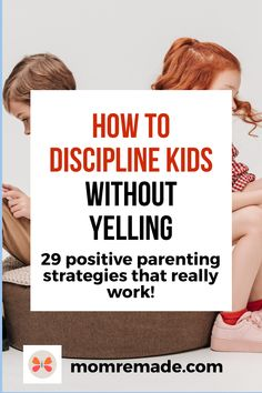 Would you like to know how to discipline kids as a Christian mom? Perhaps you are confused with all the parenting books available. These 29 positive parenting strategies are a quick guide to help you discipline your kids without having to read a long book. They are easy to do and put the burden on your kids. #discipline #momhacks #Christian #family #parenting