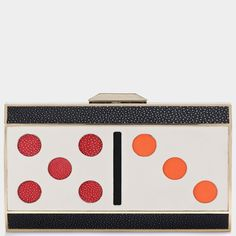 Polka Dot fun by Anya Hindmarch Fall 2013 My Style Bags, How To Be Graceful, Unique Purses, Anya Hindmarch, Clutch Bag, Purses And Bags, Branding Design, Fashion Accessories, Polka Dots