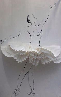 best ideas for dancing girl illustration ballet Art Ballet, Ballet Dance, Ballet Style, Art Sketches, Art Drawings, Ballet Drawings, Dancing Drawings, Ballet Crafts, Paper Art