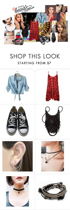 """""""Glam_night_girl"""" by mincheeya ❤ liked on Polyvore featuring Yves Saint Laurent, Justin Bieber, WearAll, Converse, Otis Jaxon and Pieces"""