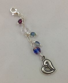 Vapor charm - Bling Charm - Ecig Charm - Mod charm - Heart on a chain e-cig charm on Etsy, $5.99