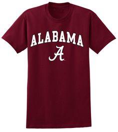Alabama Crimson Tide Tshirt Locker Room Crimson