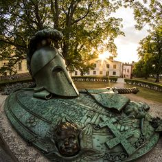 The construction of Suomenlinna Sea Fortress was headed by Swedish Count and Field Marshal Ehrensvärd whose grave memorial can be found on the island. Field Marshal, Grave Memorials, See Picture, Helsinki, Finland, Sweden, Count, Construction, Sea