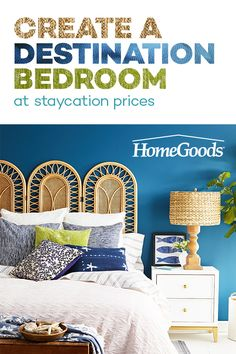 Shop today for unbelievable savings! Hurry in to HomeGoods for incredible prices on brand name bedding, pillows, accent furniture and more! Find everything you need to create a relaxing retreat all your own. Home Decor Furniture, Furniture Making, Diy Home Decor, Furniture Design, Accent Furniture, Cozy Bedroom, Dream Bedroom, Bedroom Ideas, Hacienda Homes