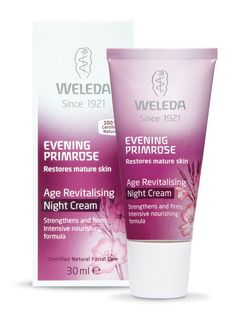 Evening Primrose Age Revitalising Night Cream 30ml (Weleda) Exfoliating Face Scrub, Exfoliate Face, Primrose Oil, Evening Primrose, Healthy Crisps, Facial Lotion, Theobroma Cacao, Centella, Beauty