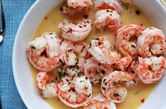 Kim Severson buys fresh local shrimp and then shows how to turn them into scampi.