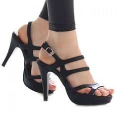 21.5$  Buy now - http://dihqp.justgood.pw/go.php?t=YK3709908 - Party Stiletto and Solid Color Design Sandals For Women 21.5$