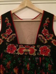 Apron, Folk, Dresses, Fashion, Vestidos, Moda, Popular, Fashion Styles, Forks