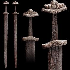 Viking sword, Northern Europe, 9th / 10th century.