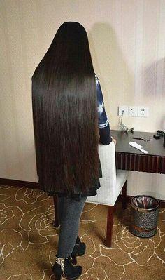 Super Straight Long Hair